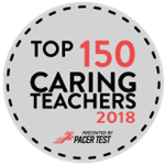 caring teacher award 2018