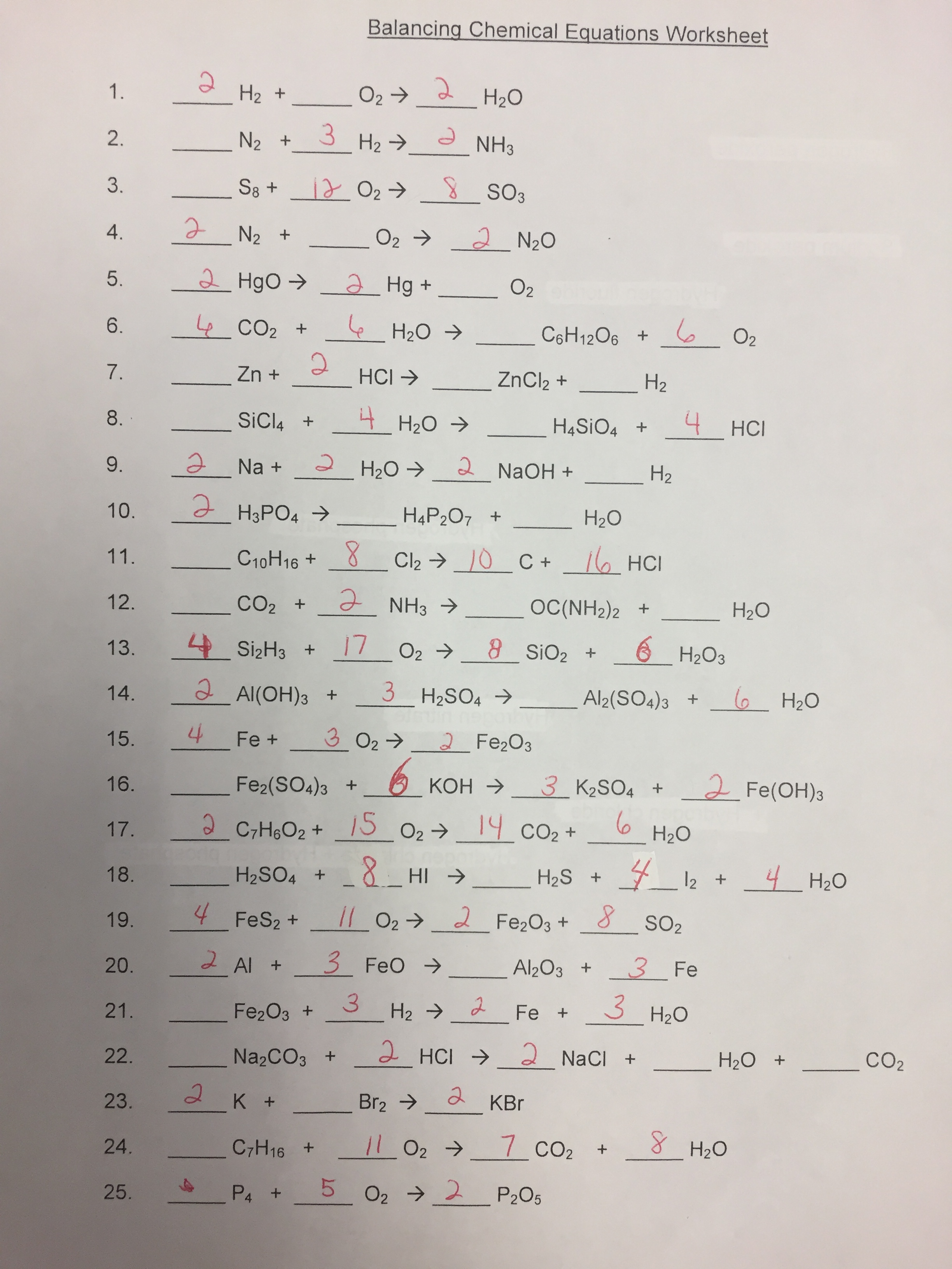 Worksheets Percent Yield Worksheet boyle kristin honors chemistry general info percent yield practice answers to front of 3rd balancing worksheet